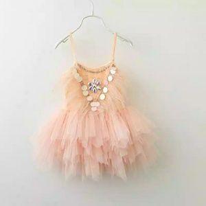 Other - Girls peach dress